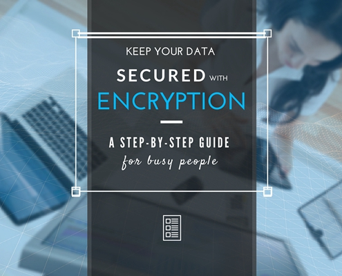 Keep Data Secured with Encription