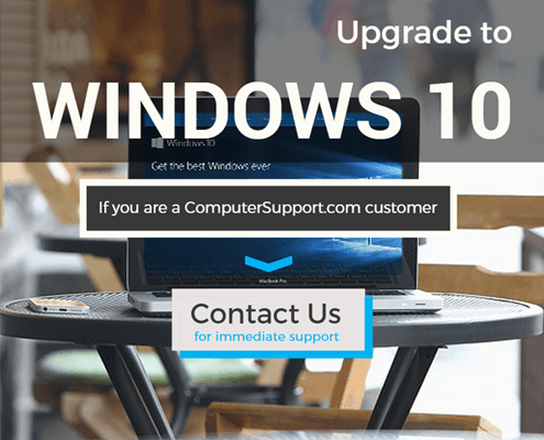 How to upgrade to Windows 10_Customer