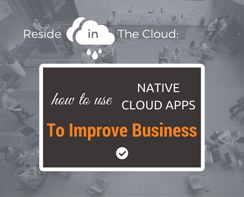 Native Cloud Apps