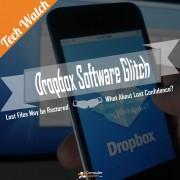 Dropbox Software Glitch
