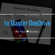 OneDrive CheatSheet