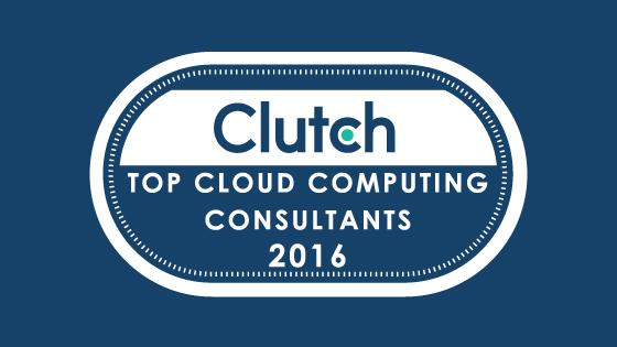 Top Cloud Computing Consultants - Clutch Award