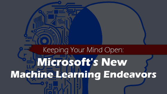 Microsoft's Open Mind is going to be the visual studio of machine learning