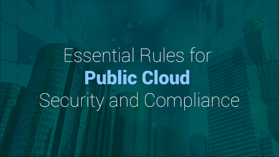Rules to keep your public cloud data safe