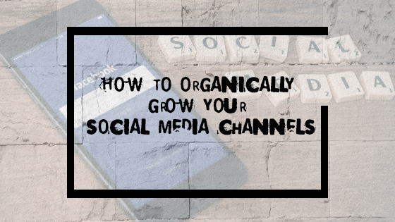 How to organically grow your social media channels