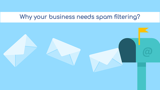 Spam filtering for businesses