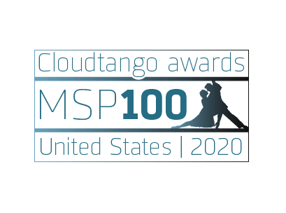 MSP100 Cloudtango Award