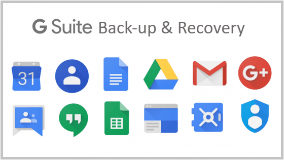 GSuite Backup& Recovery