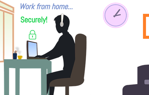 Work Home Securely